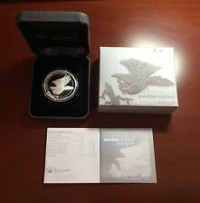 2015 Silver Wedge Tailed Eagle Proof Coin w/OGP. Low COA# under 1000. Lot W