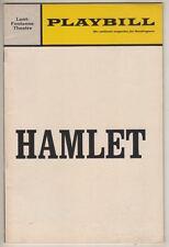 "Nicol Williamson ""Hamlet""  Playbill  Broadway  1969  Constance Cummings"