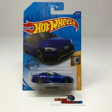 Audi RS 5 Coupe #118 * Blue * 2020 Hot Wheels * R34
