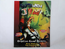 Earthworm Jim Official Game Secrets (Prima'S Secrets Of By Rusel Demaria