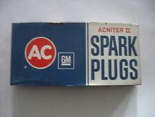 NOS AC SPARK PLUGS R44TS8 GM 5613794  PKG OF 8