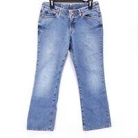 Lucky Brand Elle Jean Women's Jeans 6/28 Low Rise Short Inseam Boot Cut