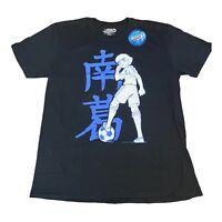 Captain Tsubasa Black T-Shirt Top - Size XL - BNWT