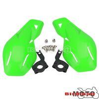 """Pair Hand Guard Handguard For Kawasaki KFX450R KFX400 KLX250 7/8""""Handlebar Green"""