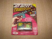 VINTAGE STAR TREK RAY PLASTICS 100 PC JET DISCS FOR THE TRACER GUN 1960'S NOS