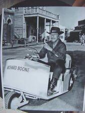 Rare Still  Richard Boone Have Gun Will Travel  CBS ON SET OFF CAMERA
