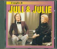 Juli & Juli - Il Meglio Di Bebas Records 1996 Timbro Siae Cd Eccellente