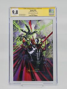 Spawn #301, CLAYTON CRAIN VIRGIN EXCLUSIVE, SIGNED BY CLAYTON CRAIN, CGC SS 9.8