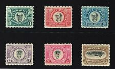 3 Scans Inverted Centers + Imperforated Dominican  Error, Full sets # 144a -150a