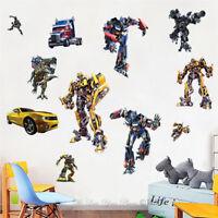 Transformer Kids Removable Wall Sticker Boys Nursery Vinyl Decal Art Mural Decor