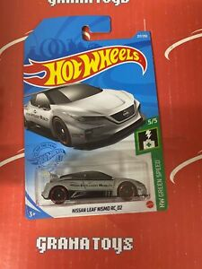 Nissan Leaf Nismo RC_02 #217 5/5 Green Speed 2021 Hot Wheels Case M