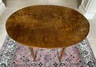 """Beautiful Tiger Maple End Table, 31""""L x 23 3/4""""W x 27""""H, Excellent Condition"""