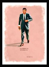 More details for john f kennedy 1917 - 1963 - a3 art print