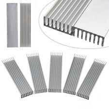 5 Pcs 100x25x10mm Heatsink Aluminum Heat Sink Chip for IC LED Power Transistor