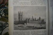 1880 neue Welt 10 England London Westminster Parlament New York Botenjunge