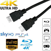 PREMIUM HDMI Cable v2.0 HD High Speed 4K 2160p 1080p 3D Lead Ethernet HEC 1.5M