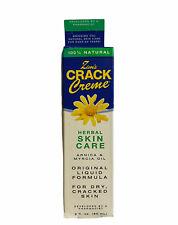 (1) Zim's Crack Creme Original Liquid Formula Arnica & Myrcia Oil 2 fl oz 60ML