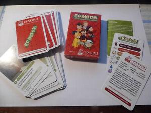 jeu de 7 familles Ecologis - assurance Generali -