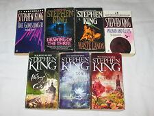 Stephen King The Dark Tower Complete Series 1-7 Paperback Gunslinger