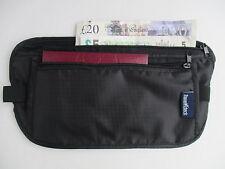 Money Belt (Black) for Travel / Walking / Sport / Concealed