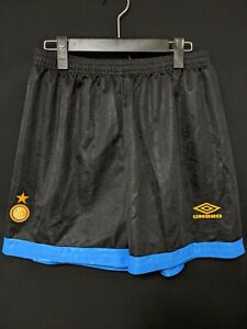 1993-94 Inter Football Training Shorts Soccer Size:M