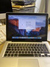 "Apple Macbook Pro 2012 13"" I7 2.9 500gb"