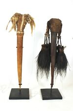 A Pair of New Guinea Bone Daggers