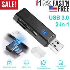 USB3.0 Card Reader Adapter For Windows XP/Vista/7/8/8.1/10 Mac OS Linux Chrome O