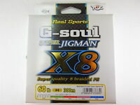 YGK - G-SOUL X8 SUPER JIGMAN PE 300m 60lb #4