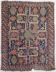 Antique rug/carpet European Turkoman Caucasian Tribal Oriental 1860