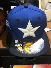 Marvel Comic New Era Captain America  Blue Baseball Snapback Cap Marvel Hat