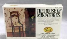 The House of Miniatures X-acto ~ Doll House Set of 2 Side Chairs Kit 40007