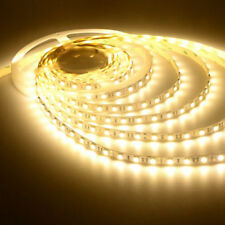 Bright 24V 5M Warm White SMD5050 LED Strip Light Tape Light + Power Supply