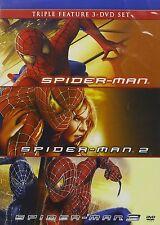 Spider-Man / Spider-Man 2 / Spider-Man 3 (DVD, 2010, 3-Disc Set)