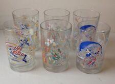 Six McDonalds Walt Disney World Celebrate The Magic Drinking Glasses/Tumblers