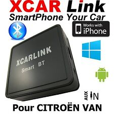 XCARLink Smart BT CITROEN VAN C2,C3,C5,SAXO,XSARA,PICASSO