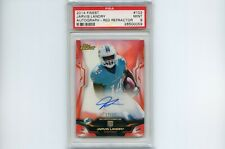 2014 Topps Finest Red Refractor Jarvis Landry Auto Rc /15 Dolphins Browns PSA 9