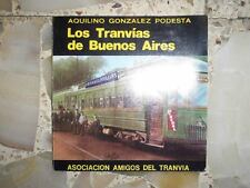 V/ RARE ARGENTINA BOOK THE TRAMWAYS OF BUENOS AIRES LIMITED EDITION 3000 COPIES