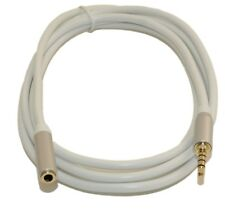 """6 Ft DC Pro Premium 3.5mm (1/8"""") Stereo 4-Pole TRRS Male to Female Cord Cable."""