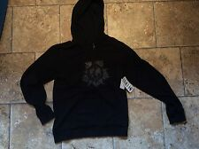 Mens Hoodie Oakley Soviet Star Hoody Black Size M Chest 40 New (D-217)
