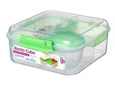 Sistema Bento Cube Box To Go With Fruit/Yogurt Pot