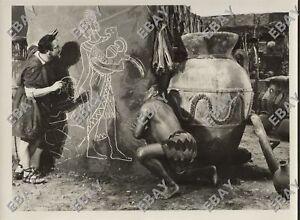 foto film muto CABIRIA Pastrone FULVIO AXILLA (U.Mozzato) MACISTE (B.Pagano)1914