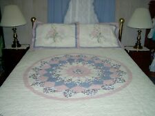 King Limited Edition Josie Patchwork Quilt and Shams New 96x105 All Cotton