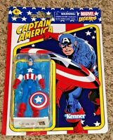 HASBRO / KENNER MARVEL RETRO LEGENDS CAPTAIN AMERICA ACTION FIGURE 3.75""