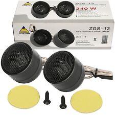 Coche Radio Estéreo 240 vatios altavoces par pequeño tweeters de montaje universal 35mm Pod