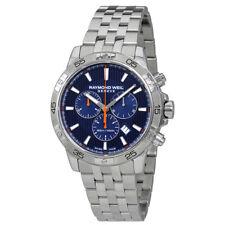 Raymond Weil Tango Chronograph Blue Dial Mens Watch 8560-ST2-50001