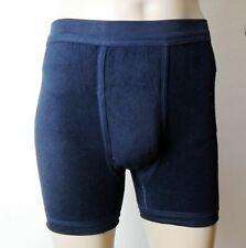 Herren-Pants oder Slip aus Frottee mit Eingriff (Doppelpack)
