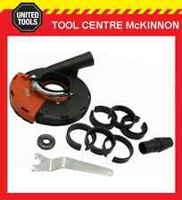 """HERZO DUST EXTRACTION SHROUD FOR 9"""" 230mm ANGLE GRINDER – SUIT MAKITA, BOSCH ETC"""