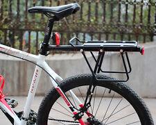 60kg! V Disc Brake Bicycle Bike Alloy Rear Rack Carrier Luggage Protect Pannier