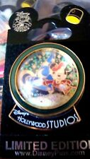Mickey Hollywood Studios Glitter Globe Disney Pin Mint Original Card